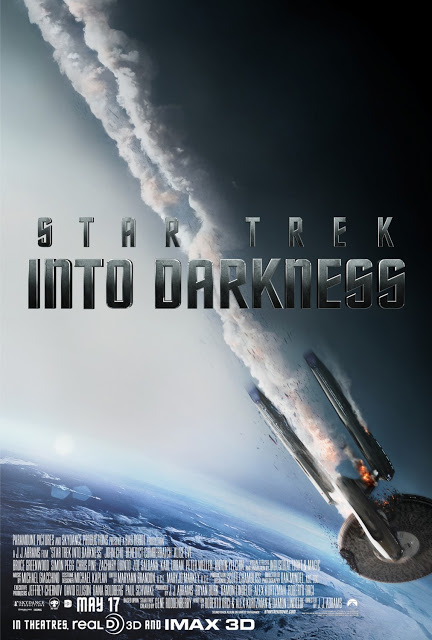 Star Trek Into Darkness Final Theatrical One Sheet Movie Poster